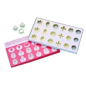 Caja 18 Cortadores Surtidos Plástico