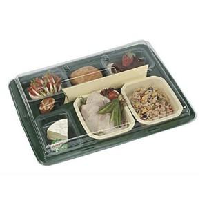 Comprar Set Gastronorme para Catering Marfil y Tapa Transparente