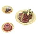 Comprar Plato Redondo Serie Galaxie Marfil con Tapa para Bandejas de Catering Profesional