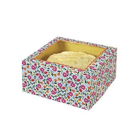 Comprar Caja para Tartas Floral