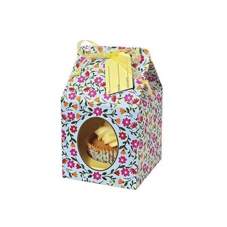 Comprar Caja para 1 Cupcake Floral