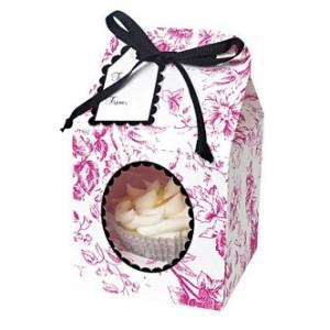 Comprar Caja para 1 Cupcake Vintage