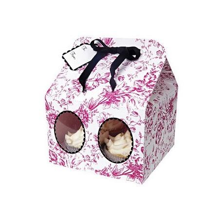 Comprar Caja para 4 Cupcakes Vintage