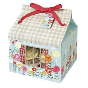 Caja para 4 Cupcakes Floral