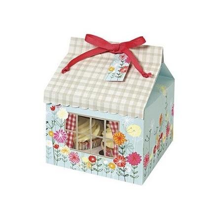 Comprar Caja para 4 Cupcakes Floral