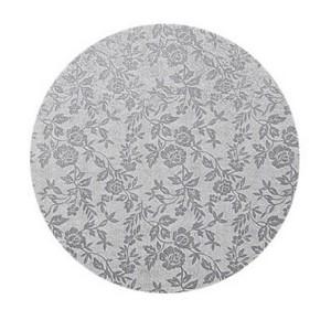 Plato de Ø 45 cm de Cartón con Revestimiento de Aluminio