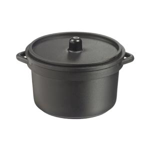 Comprar Mini Cazuela Negra con Tapa Microondas (30 ud.)