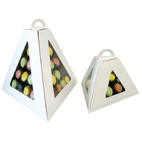 Comprar Caja para transportar pirámide de 9 Macarons