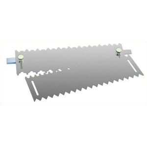 Peine Aluminio para Decoración de Pastelería