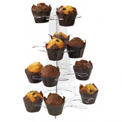 Expositor para muffins y cupcakes