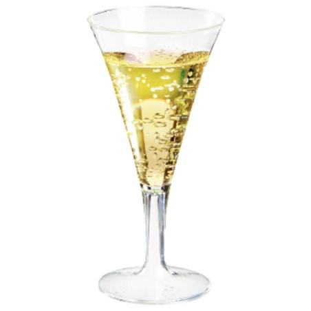Comprar Mini Copa de Plástico para Champagne (12 ud)
