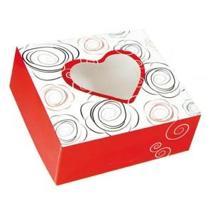 Comprar Caja de Cartón con Ventana Rosae