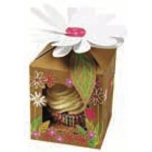 Caja para 1 Cupcake Bosque