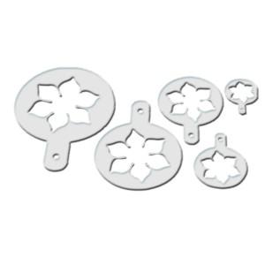 """Comprar Kit de 5 Plantillas de Plástico """"Flor de Loto"""""""