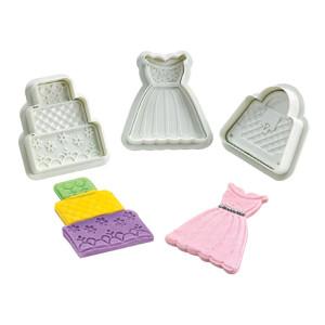 Comprar Cortadores para decoración de tartas kit moda