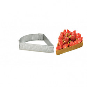 Molde triangular micro perforado