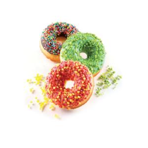 Molde silicona donuts