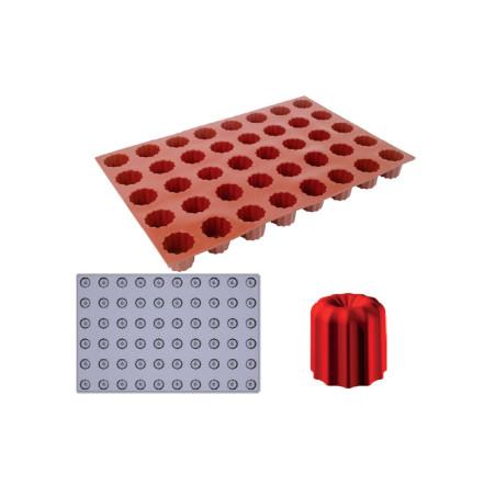 Comprar Molde de silicona Gominolas (Fruit Jellies) - Mini estriado