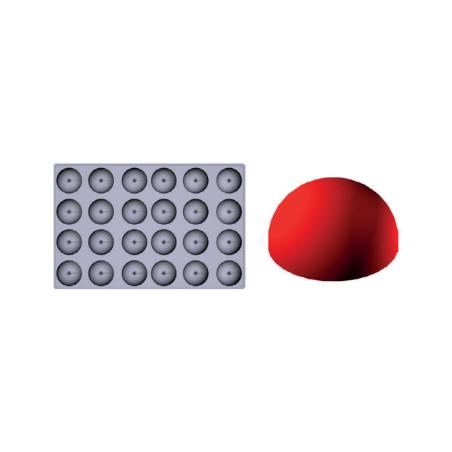 Comprar Molde de silicona Gominolas (Fruit Jellies) - semi esfera
