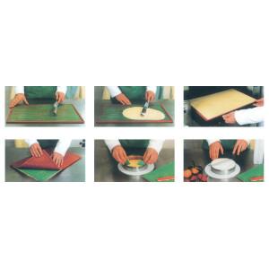 Tapete texturizador silicona - Corazones