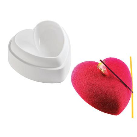 Comprar Molde de silicona TortaFlex - Corazon abombado