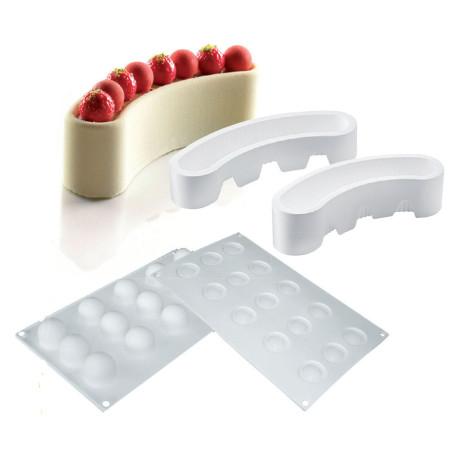 Comprar Molde de silicona TortaFlex - Luna