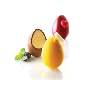 Molde silicona 3D - 5 Huevos
