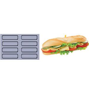 Comprar Bandeja Papel siliconado Fiber Mae - 8 Sandwiches