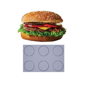 Comprar Bandeja Papel siliconado Fiber Mae - 6 Burgers Big