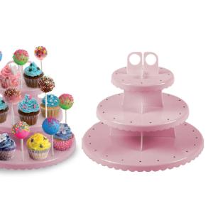 Expositor para piruletas y cupcakes