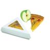 Caja blanca para pastel triangular