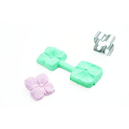 Comprar Molde para pasta de azúcar Flor 4 petalos