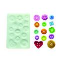 Comprar Molde de silicona botones Profesional