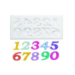 Molde de silicona números