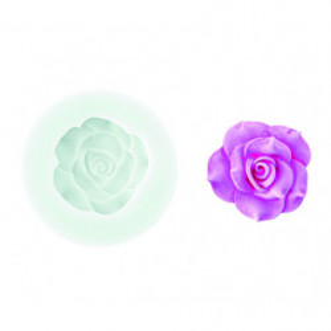 Comprar Molde de silicona Flor Rosa