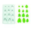 Comprar Molde de silicona hojas variadas Profesional