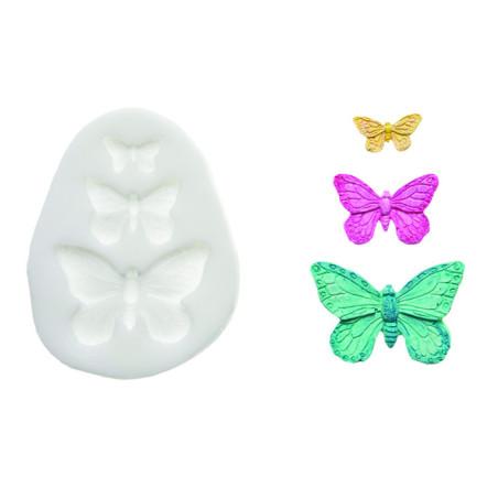 Comprar Molde de silicona Mariposas