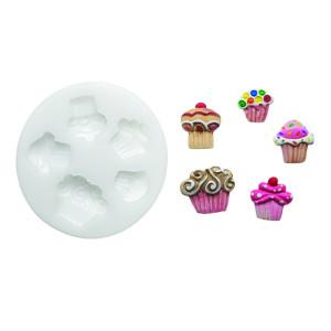 Molde de silicona cupcakes