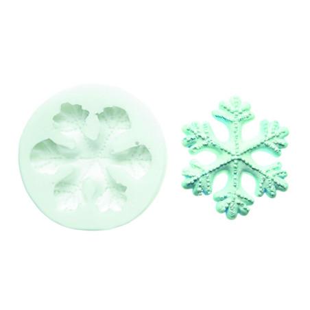 Comprar Molde de Silicona Copo de Nieve