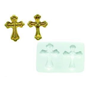 Molde de silicona cruces