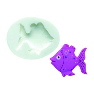 Molde de silicona pez