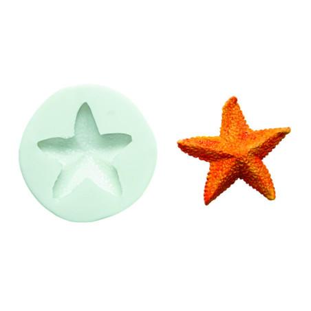 Comprar Molde de silicona estrella de mar