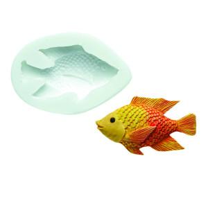 Molde de silicona pez 2