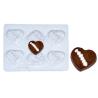 Molde de Plástico con Forma Corazón Halloween
