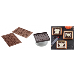 Comprar Molde Galletas de Chocolate Figuras Halloween