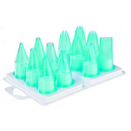 Comprar Caja de 12 Boquillas Pasteleras de Tritan (catering)