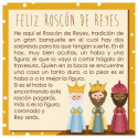 Comprar Tarjeta Roscón de reyes