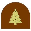 Comprar Decoración Troncos de Navidad 4 Profesional