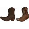 Molde de chocolate Botas Cowboy