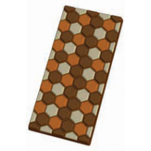 Molde tableta chocolate de diseño 1